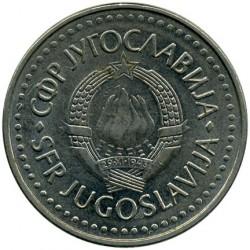 Moneda > 50dinara, 1986 - Iugoslàvia  - obverse