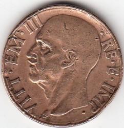 العملة > 10سنتيسيمي, 1936-1939 - إيطاليا  - obverse