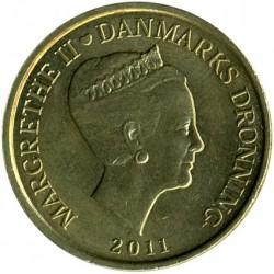 Νόμισμα > 20Κρόνερ(Κορώνες), 2011-2012 - Δανία  - obverse