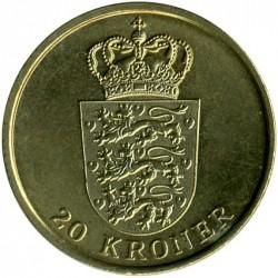 Νόμισμα > 20Κρόνερ(Κορώνες), 2011-2012 - Δανία  - reverse