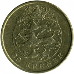 Münze > 20Kronen, 2003-2010 - Dänemark   - reverse