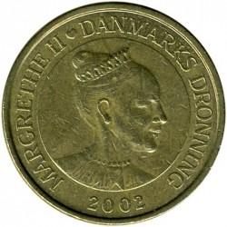 Münze > 20Kronen, 2001-2002 - Dänemark   - obverse