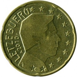 מטבע > 20סנט, 2007-2018 - לוקסמבורג  - reverse