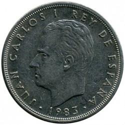 Coin > 5pesetas, 1982-1989 - Spain  - obverse