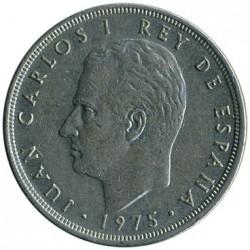 Moneta > 5pesetos, 1975 - Ispanija  - obverse