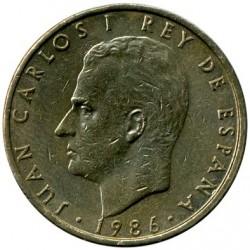 Coin > 100pesetas, 1982-1990 - Spain  - obverse