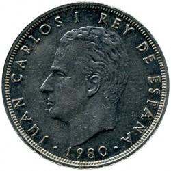 Moneda > 25pesetas, 1980 - España  - obverse