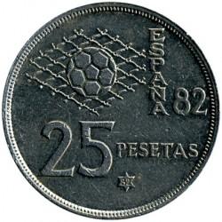 Moneda > 25pesetas, 1980 - España  - reverse