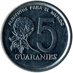 العملة > 5غواراني, 1984 - براغواي  - reverse