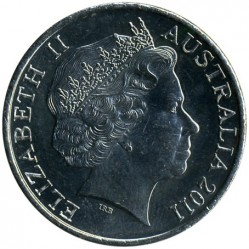 Moneta > 20 centų, 2011 - Australija  (100th Anniversary - International Women's Day) - obverse