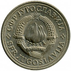 Moneda > 2dinares, 1971-1981 - Yugoslavia  - reverse