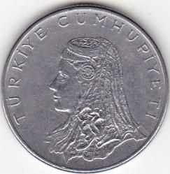 Moneta > 50kurušų, 1971-1979 - Turkija  - obverse