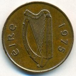 Coin > 2pence, 1975 - Ireland  - obverse
