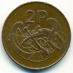 سکه > 2پنس, 1971-1988 - ایرلند  - reverse