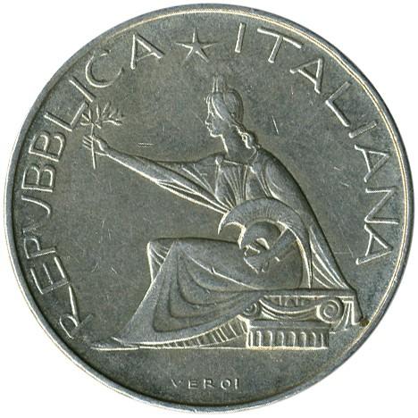 6d9447b442 500 lire 1961 - 100° Unità d'Italia, Italia - Valore della moneta ...