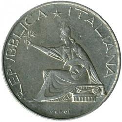 سکه > 500لیره, 1961 - ایتالیا  (100th Anniversary - Italian Unification) - obverse