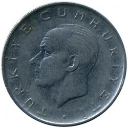Moneta > 1lira, 1959-1966 - Turkija  - reverse
