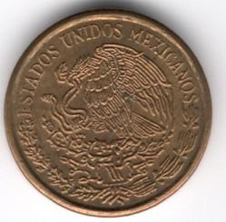 Munt > 1centavo, 1970-1973 - Mexico  - obverse
