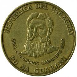 מטבע > 500גואראני, 1998-2005 - פרגוואי  - obverse