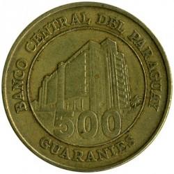 מטבע > 500גואראני, 1998-2005 - פרגוואי  - reverse