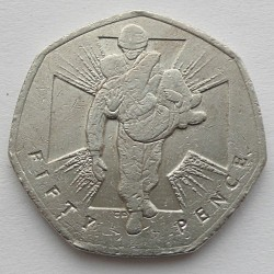 Moneda > 50peniques, 2006 - Reino Unido  (Actos heroicos) - reverse