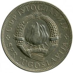 Moneda > 10dinares, 1977 - Yugoslavia  - obverse