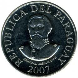 Moneta > 100gvaranių, 2006-2016 - Paragvajus  - obverse