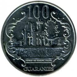 Moneta > 100gvaranių, 2006-2016 - Paragvajus  - reverse