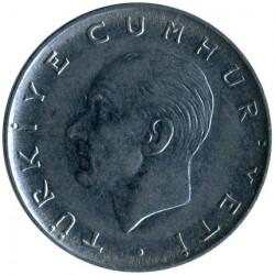 Moneta > 1lira, 1967-1980 - Turkija  - obverse