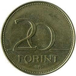 Moneta > 20forintų, 2012-2019 - Vengrija  - reverse