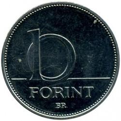 Moneta > 10fiorini, 2012-2017 - Ungheria  - reverse