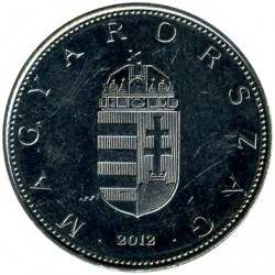 Monedă > 10forinți, 2012-2018 - Ungaria  - reverse