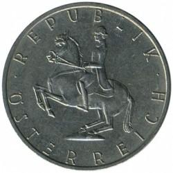 Minca > 5schilling, 1968-2001 - Rakúsko  - obverse