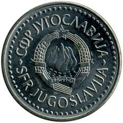Moneta > 50dinara, 1985-1988 - Jugoslavia  - obverse