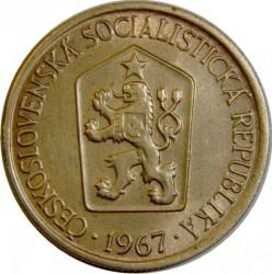 Minca > 1koruna, 1961-1990 - Československo  - obverse