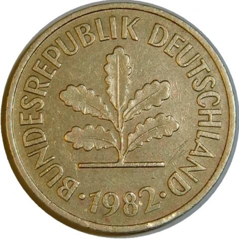 5 Pfennig 1950 2001 Deutschland Münzen Wert Ucoinnet