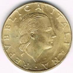سکه > 200لیره, 1997 - ایتالیا  (100th Anniversary - Italian Naval League) - obverse