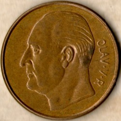 Mynt > 5 ore, 1959 - Norge  - reverse