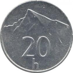 Moneta > 20halerzy, 1993-2003 - Słowacja  - reverse