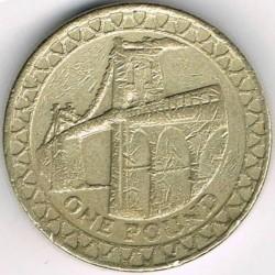 Moneta > 1svaras, 2005 - Jungtinė Karalystė  (Menai Suspension Bridge) - reverse