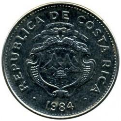 Moneta > 50sentimų, 1984 - Kosta Rika  - obverse