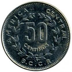 Moneta > 50sentimų, 1984 - Kosta Rika  - reverse