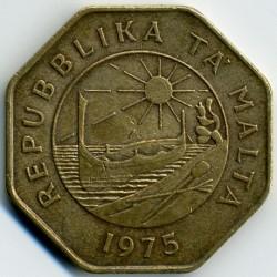 Minca > 25cents, 1975 - Malta  - obverse