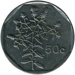 Minca > 50cents, 1991-2007 - Malta  - reverse