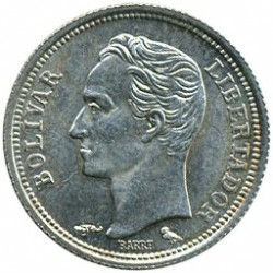Νόμισμα > 25Σεντίμος, 1960 - Βενεζουέλα  - obverse