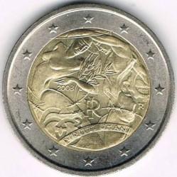 سکه > 2یورو, 2008 - ایتالیا  (60th Anniversary - Universal Declaration of Human Rights) - obverse