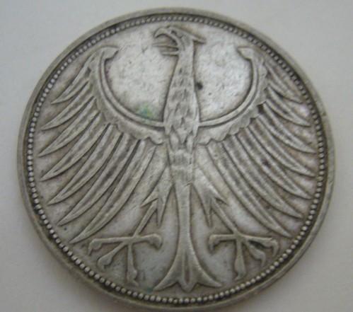 5 Mark 1951 Deutschland Münzen Wert Ucoinnet