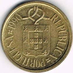 Монета > 5ескудо, 1986-2001 - Португалия  - obverse