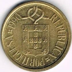 Mynt > 5escudos, 1986-2001 - Portugal  - obverse