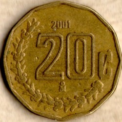 Монета > 20сентаво, 1992-2009 - Мексика  - obverse